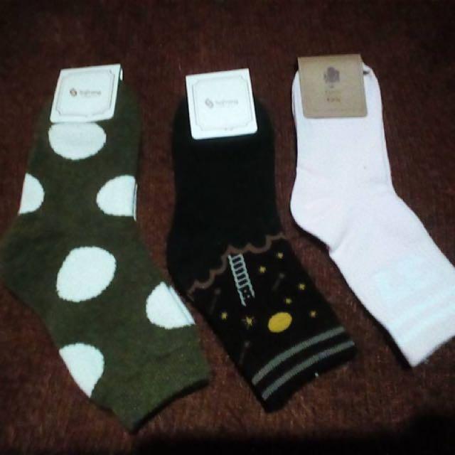 3 For 200 Socks