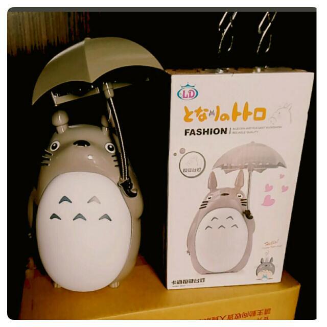 Totoro公仔造型USB插電檯燈