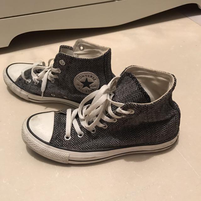 🔸[ Converse ] 復古 高筒帆布鞋