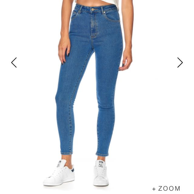 A Brand Skinny Ankle Basher Jean