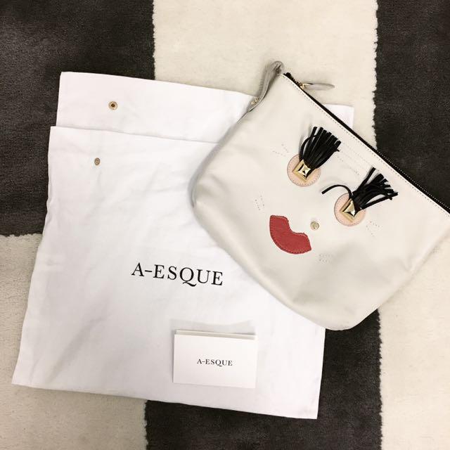 A-ESQUE Clutch Bag