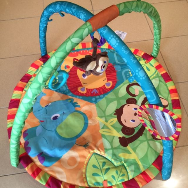 Animal Jungle Play Gym