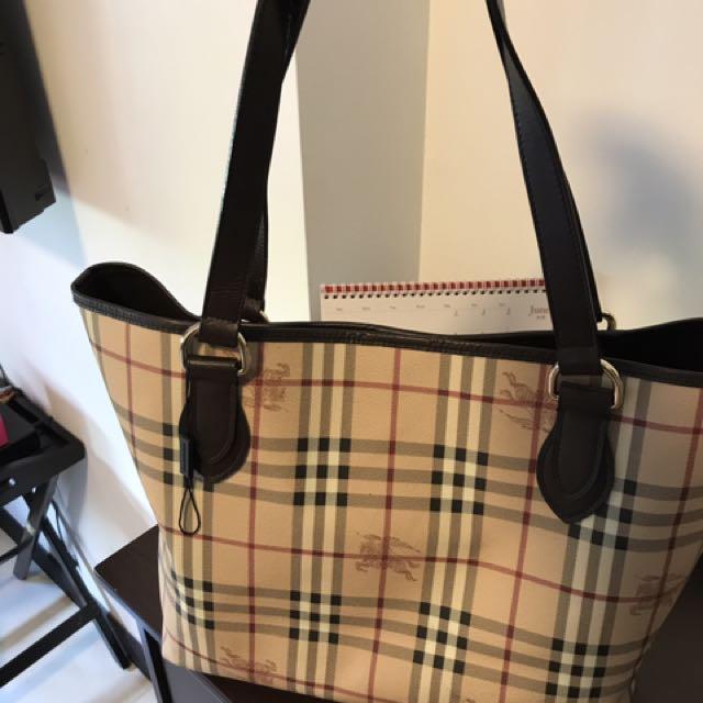 5807c60be75b SALE) Authentic Burberry Bag