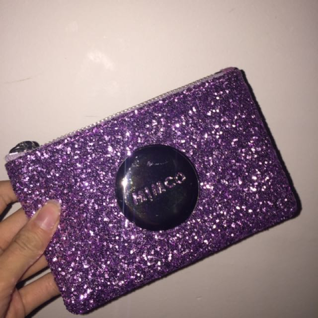 Authentic Glittery Mimco Pouch