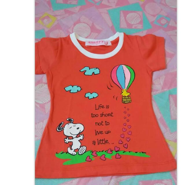 Authentic Snoopy Tops