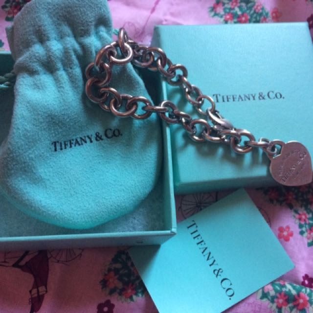 🌹RESERVED 🌹Authentic Tiffany  And Co RTT Heart Toggle Bracelet