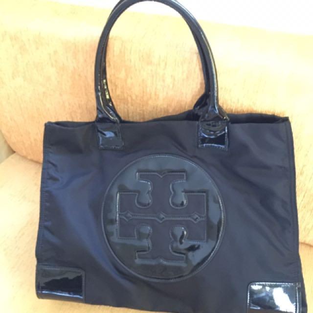 Authentic Tory Burch Ella Tote Nylon Bag