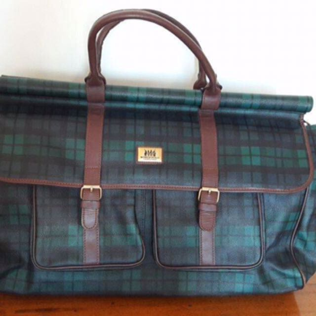 Authentic Vintage Polo Travel Bag