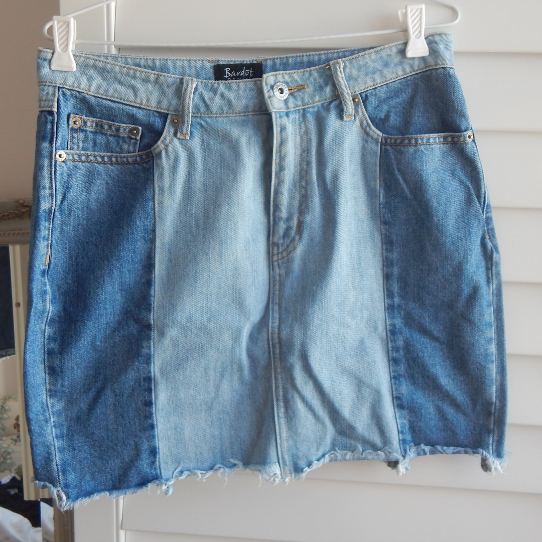 Bardot Denim Skirt Size 12