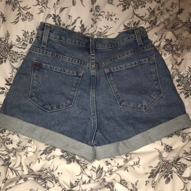 BDG Mom High Waisted Shorts
