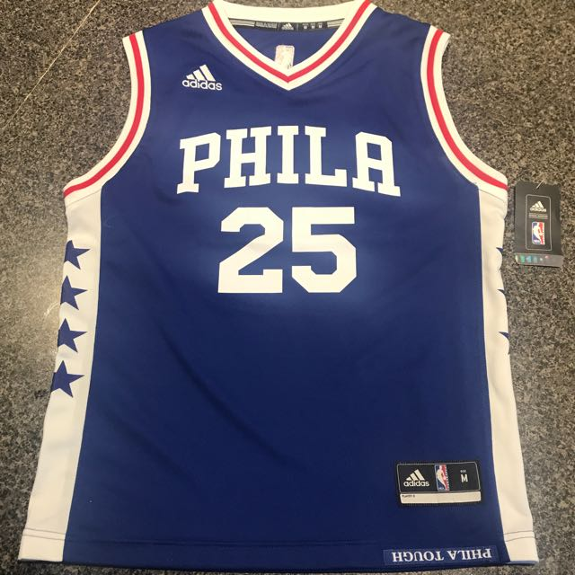 26244585f7f Ben Simmons Youth Jersey - Philadelphia 76ers