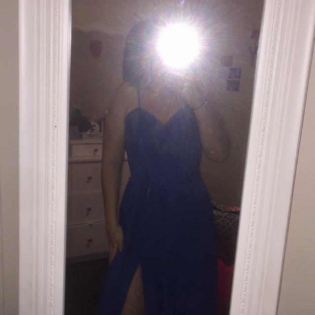 Blue Ball Dress