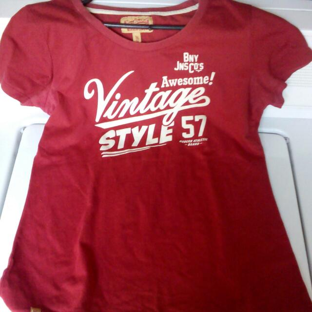 Bny Vintage Style T-shirt