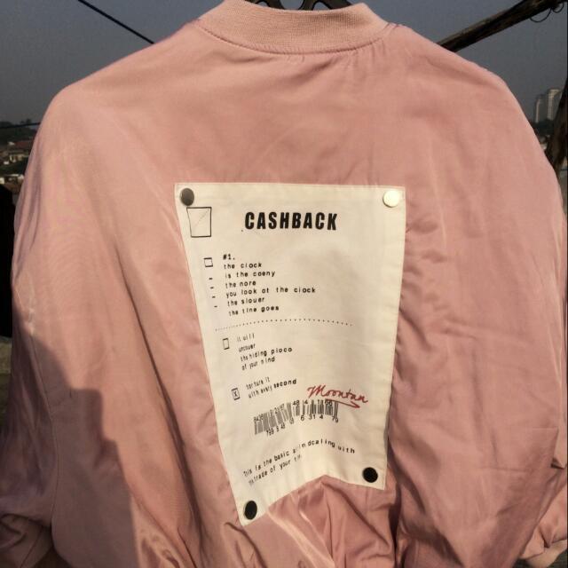 Bomber Jacket Women Size M
