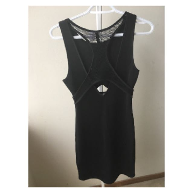 BRAND NEW BLACK BODY CON DRESS