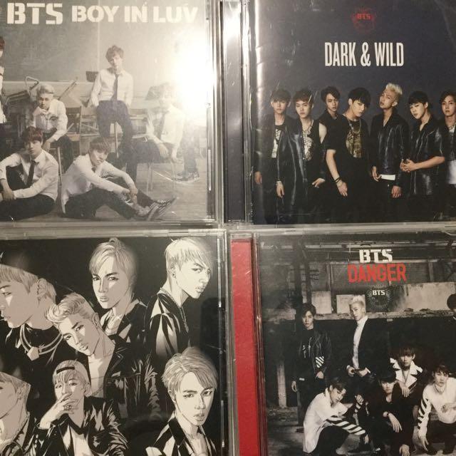 BTS Japanese CDs