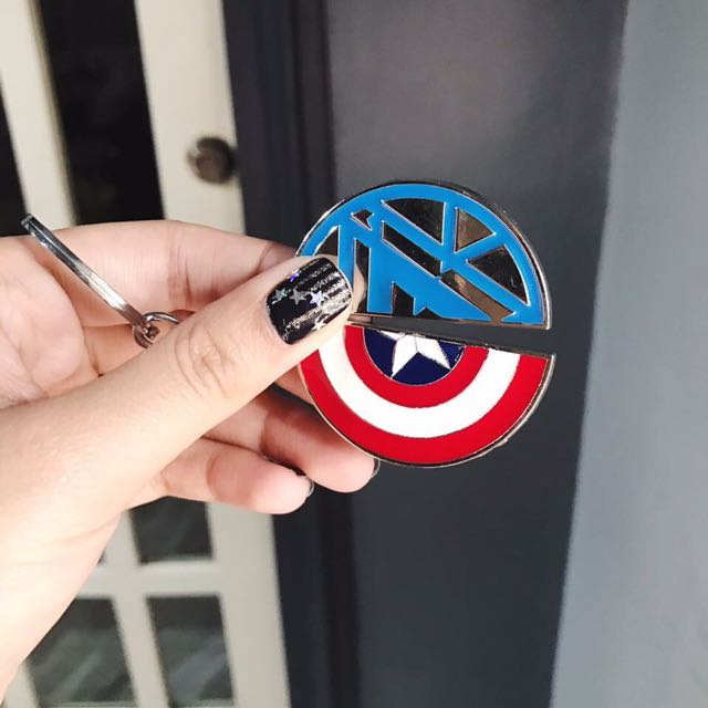 Civil War Keychains