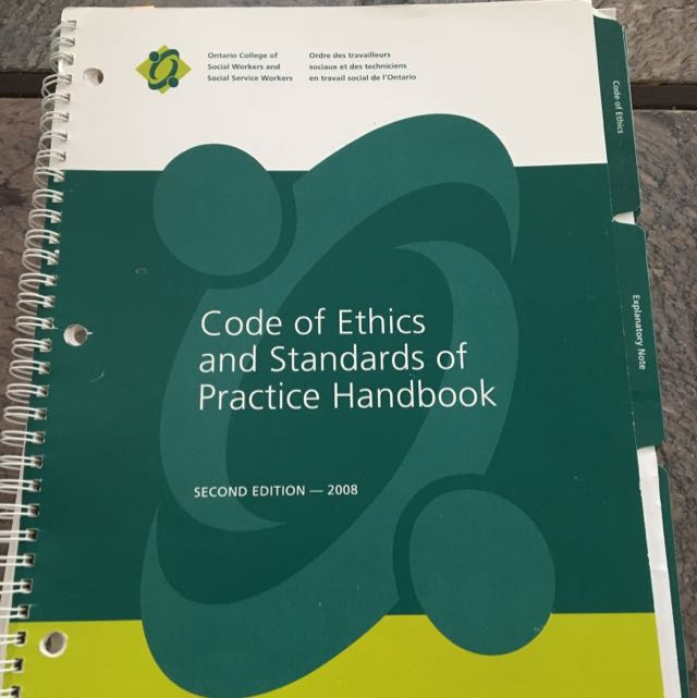 Code Of Ethics And Standards
