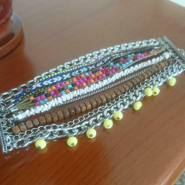 Colorbox Ethnic Bracelet / Gelang