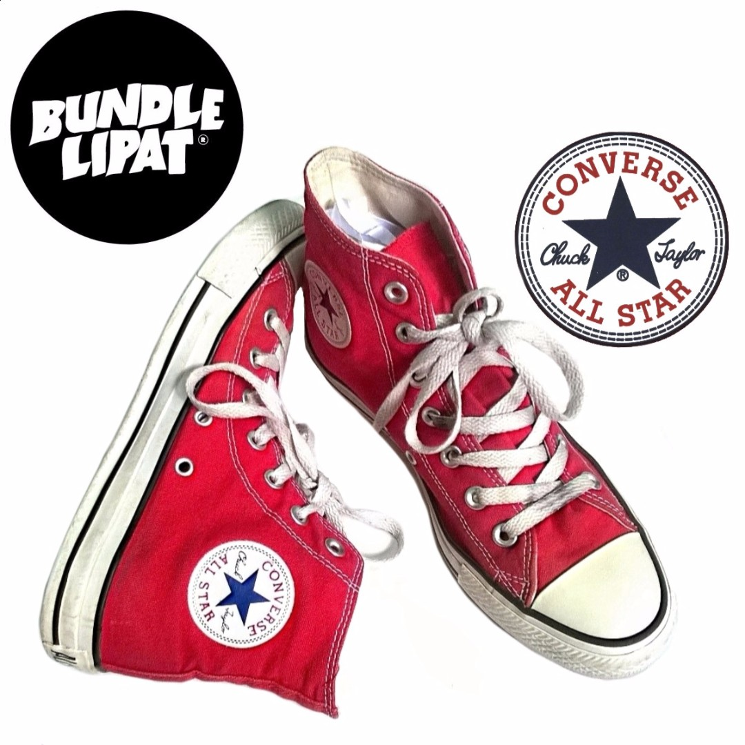c00bce7374ae ... clearance converse chuck taylor all star high cut red colour size 6 uk  mens fashion footwear