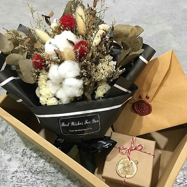 Cotton Flower Bouquet, Design & Craft, Handmade Goods & Accessories ...