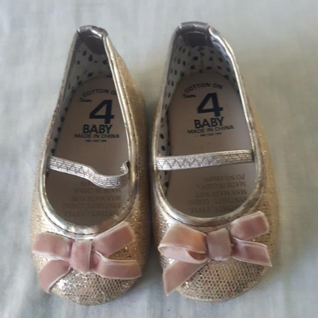 Cotton On Ballet Flats Size 4