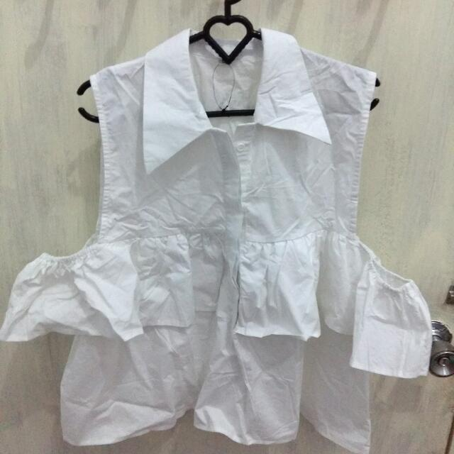 Coup Belle GW Elstra Top In White