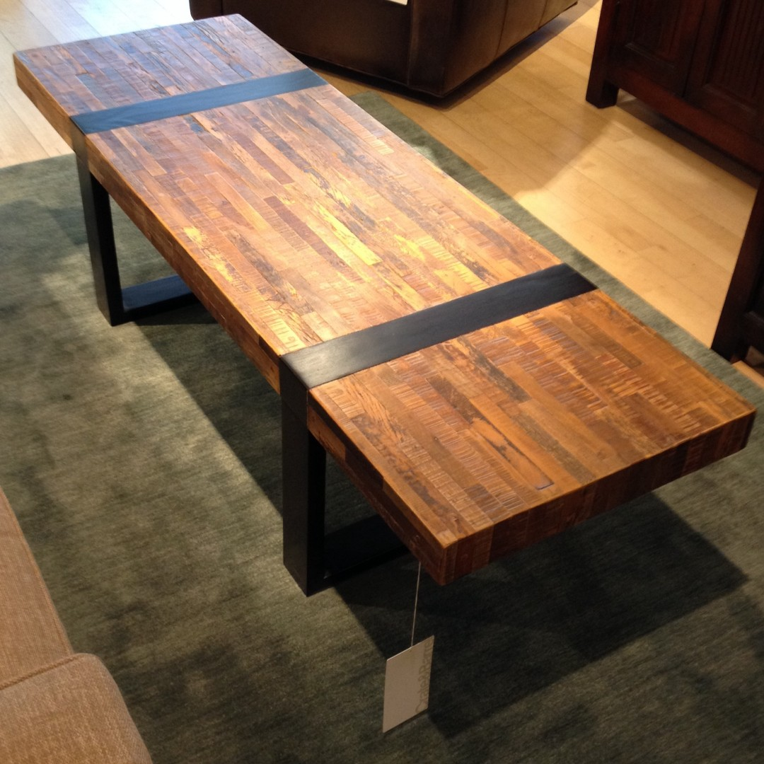 Crate Barrel Seguro Coffee Table Furniture Tables Chairs On Carousell