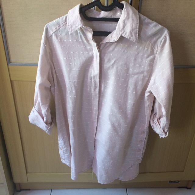 Cream Shirt ( Kemeja )