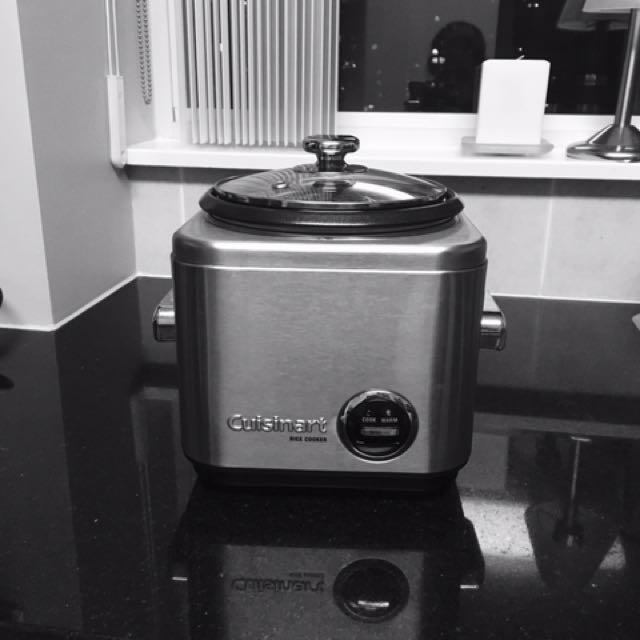 Cuisinart Rice Cooker / Steamer 4qt