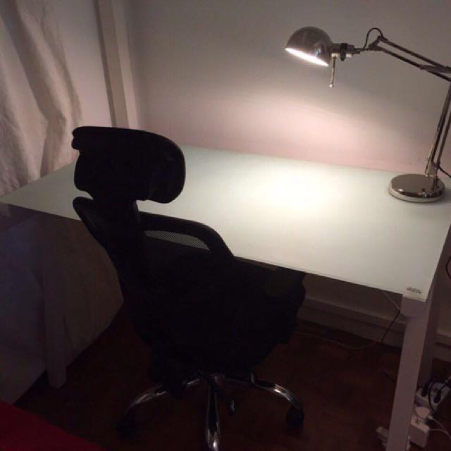 Designer Working Desk + Computer Chair