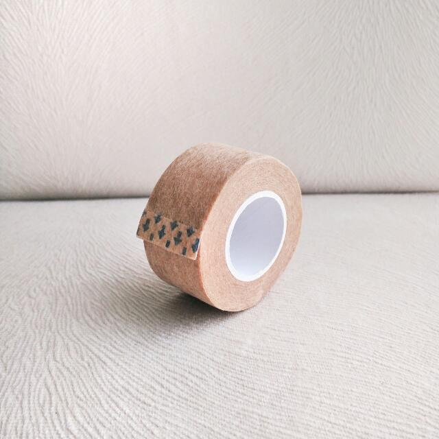DOUBLE EYELID TAPE | Brown Custom Cut Tape