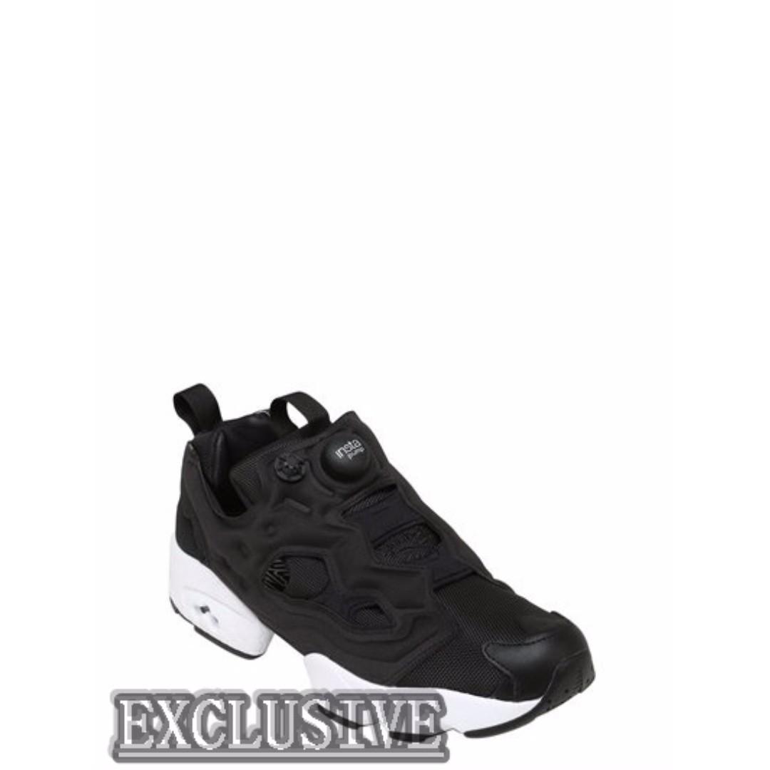 【EXCLUSIVE ®】REEBOK CLASSICS INSTAPUMP FURY OG 黑魂 充氣鞋 奧利奧