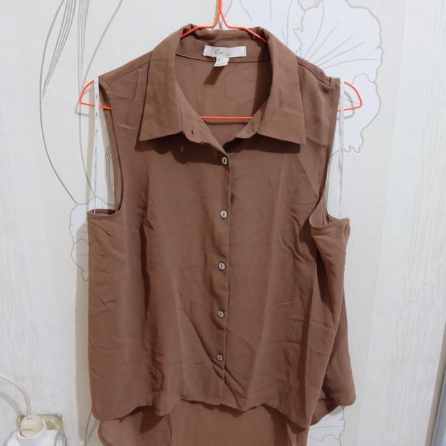 F21 Brown Top