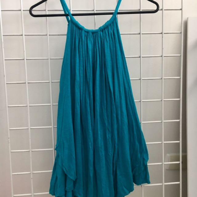 Flowing Green Dress - Size 12