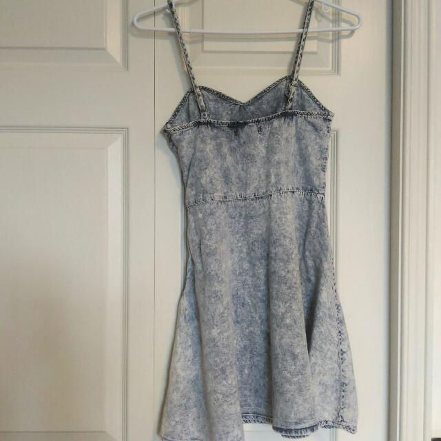 Forever 21 Denim Look Summer Dress - Size Small