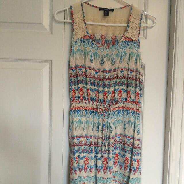 Forever 21 Summer Dress - Size Small