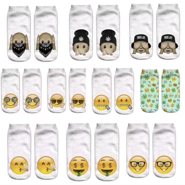 FREE POSTAGE Emoji Ankle Socks