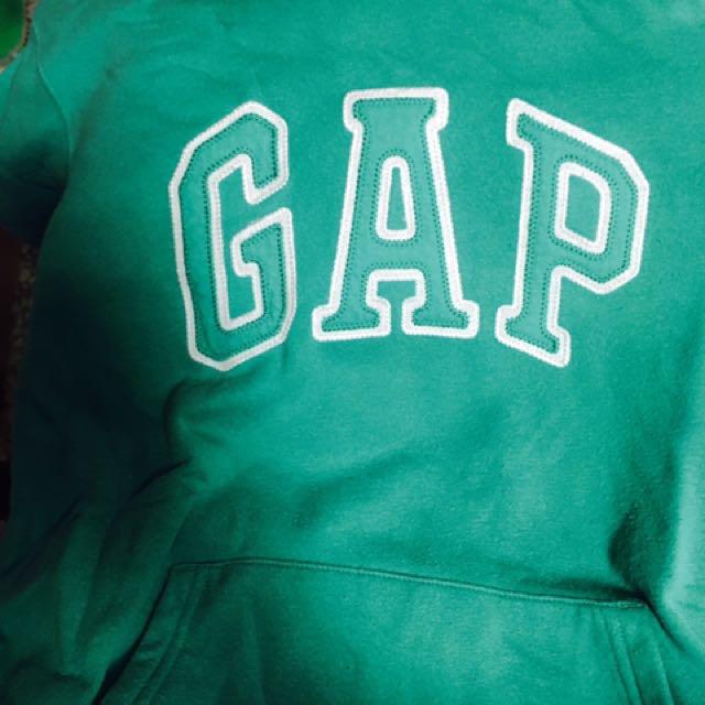 Gap綠帽t