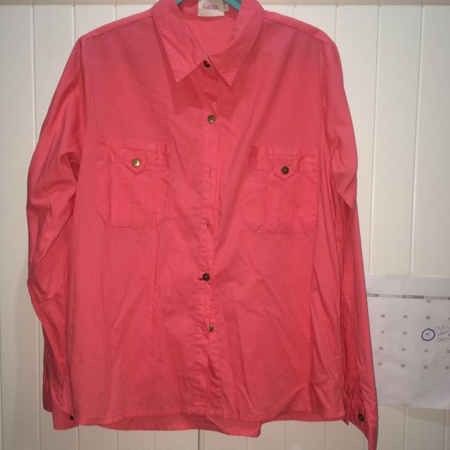 Gaudi Pink Shirt