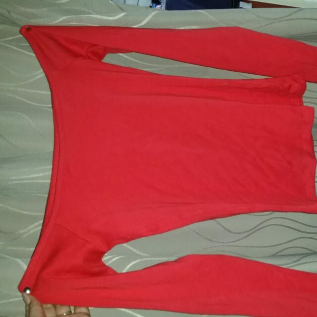 GLASSON'S OFF SHOULDER LONG SLEEVE Size L