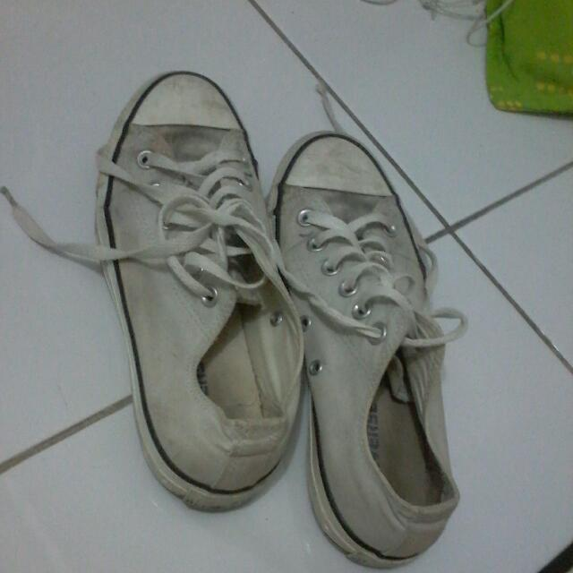 Gray Converse Authentic