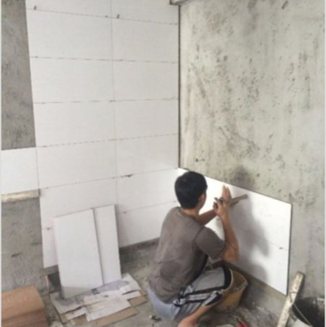 Hdb Tiling Works For HDB 3/4/5 Rooms BTO / Resale Or Condo