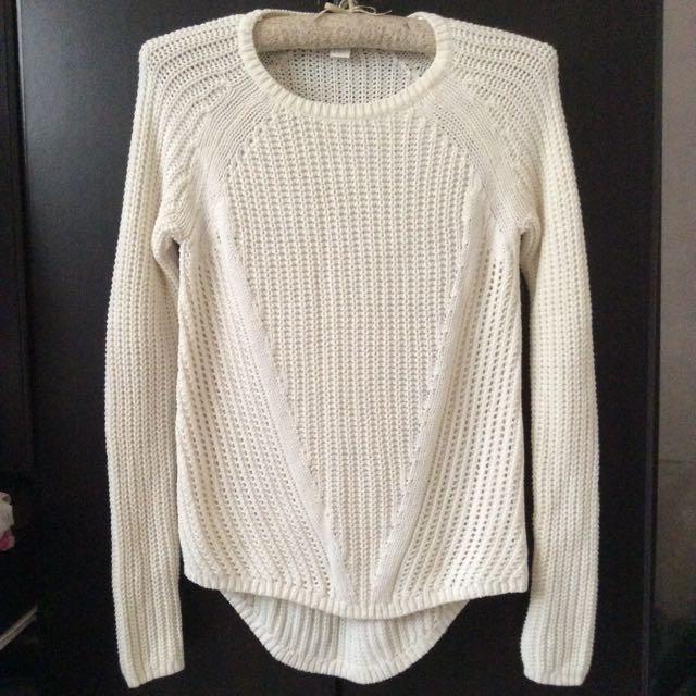 H&M Long Knit Sweater