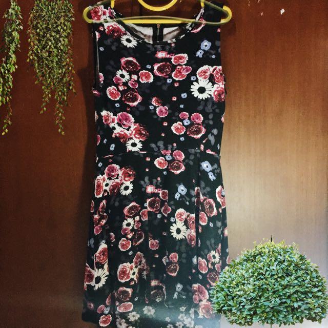 Hnm Floral Dress