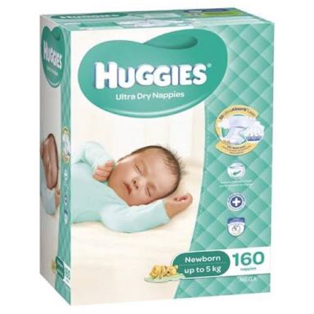 Huggies Nappies - Newborn