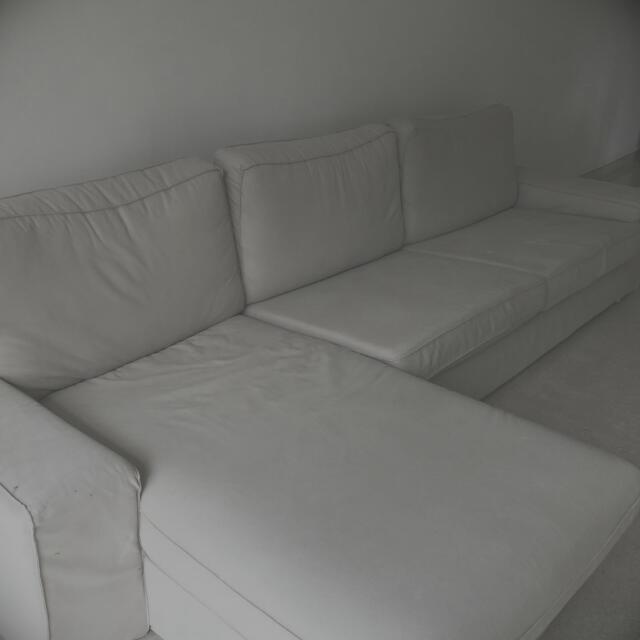 Ikea L Shape Sofa Manstad, L Shape Sofas Ikea