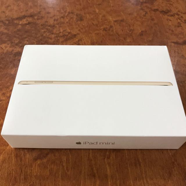 iPad mini 4 香檳金 128G (2017年製)
