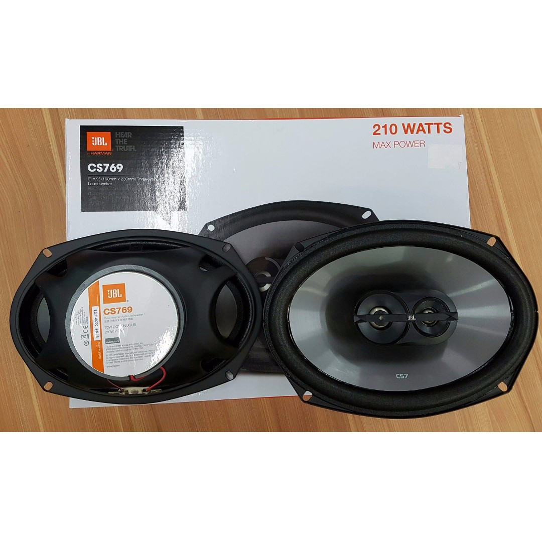 JBL CS769 6 x 9 Three-Way car Audio Loudspeaker