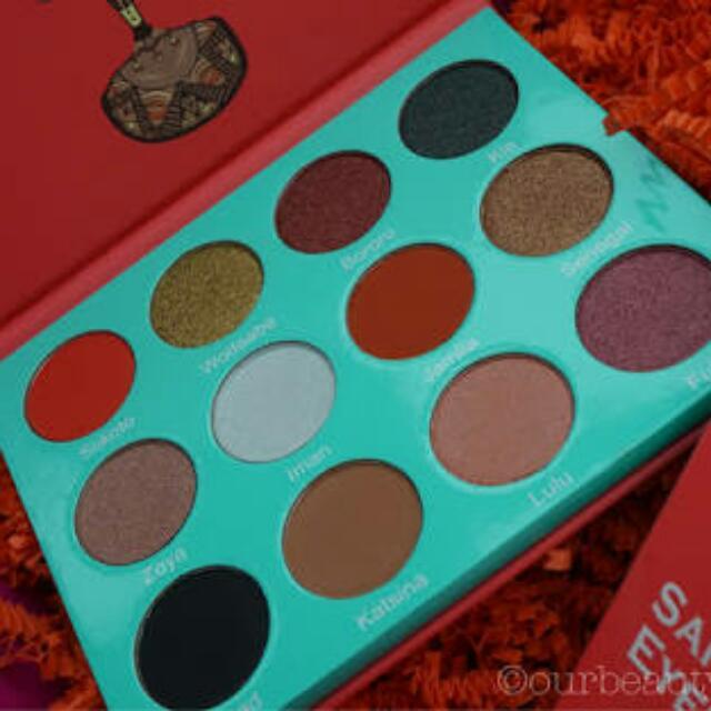 Juvia's Sahara Pallete Eyeshadow